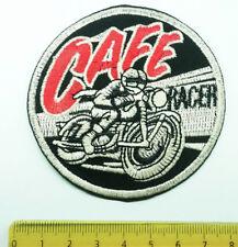 Aufnäher Aufbügler Patch Cafe Racer Norton Triumpf BSA Harley AJS Guzzi Buell