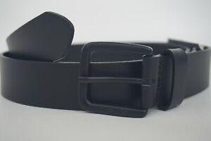 LEVI'S GENUINE LEATHER BLACK BELT Men's 40 (100cm), Authentic BRAND NEW380190059