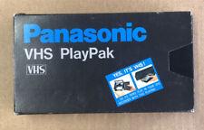 Panasonic VHS-C To VHS Playpak Cassette Adapter Tape Converter Tested! Works
