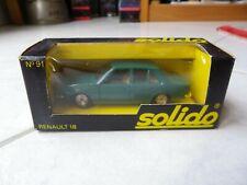 Renault 18 91 Solido 1/43 Miniature avec boite