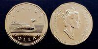 Canada 1995 Gem UNC Proof Like UNC Loonie!!