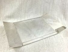 Christofle Silver Plated Desk Tray Accessory RARE French Martin Szekely Modern