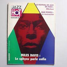 Jazz Hot N°435. Miles Davis.