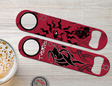 Zodiac Taurus Birth Sign Personalized Bartender Bar Blade Speed Bottle Openers