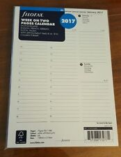 2017 FILOFAX A5 Week on Two Pages Diary/Calendar - 5 Language - 17-68514