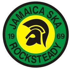 SKA REGGAE ROCKSTEADY RECORD BOX STICKER - 1969 - SKA - REGGAE - JAMAICA TROJAN