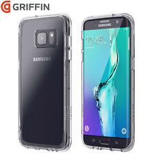 GRIFFIN SAMSUNG GALAXY S7 SURVIVOR MILITARY SLIM TOUGH CLEAR CASE COVER - CLEAR
