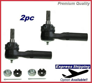 Premium Tie Rod End SET Outer For Chevrolet GMC HUMMER GM Truck SUV Kit ES3609