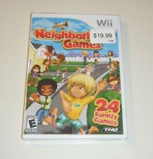 Neighborhood Games BRAND NEW SEALED GAME for your Nintendo Wii system - KIDS U