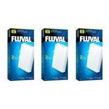 Fluval U2 Aquarium Stage 1 Filter Foam Pads *Genuine* 3 Packs of 2 BUNDLE