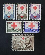 CKStamps: Belgium Stamps Collection Scott#B641-B646 Mint NH OG