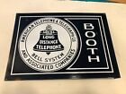 American+Telephone+%26+Telegraph+Co+Porcelain+Sign+2-Sided
