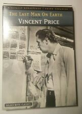 The Last Man On Earth 1964 Release Year (DVD, 2004)  Vincent Price