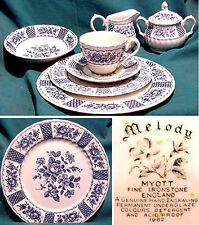 MYOTT STAFFORDSHIRE, Melody, Blue,REPLACEMENT PIECES