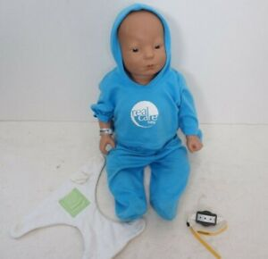Mixed Boy Blue Eyes REAL CARE BABY II Plus Doll Realityworks NOT TESTED AS IS!
