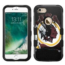 for iPhone 8 Rugged Rubber+Hard Hybrid Case Washington Redskins #Glove