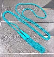 New Kendra Scott Phara Matte Aqua Tassel Necklace