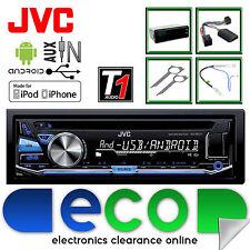 VW Golf MK4 JVC AUTO ESTÉREO RADIO CD MP3 USB iPod Iphone Aux-in control de dirección