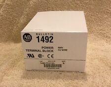 New! Allen-Bradley 1492-PD3163 Power Terminal Block, 600V