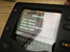 RARE CFV16 CVF-16 HASSELBLAD V DIGITAL BACK 2991 ACTUATIONS SHUTTER ACCOUNT