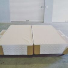 2 x  Long Single King  Bed Bases With Drawers & Gliders ( For A King Mattress )