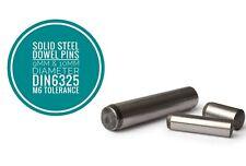 Metric Hardened and Ground Steel Dowel Pins DIN6325 9mm & 10 mm Diameter