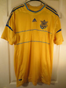 Ukraine YKPAIHA Adidas Soccer Jersey UEFA Euro Cup Football Men's Size XL