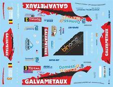 DECALS 1/43 CITROËN C4 WRC - #3 - BOUCHE - RALLYE DU CONDROZ 2013 - D43373