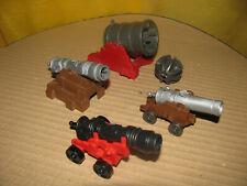 Konvolut Playmobil - verschiedene Kanonen - 4 Stück