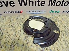 84-06 Jeep Wrangler Cherokee New Dust Brake Shield Left Side Mopar Factory OEM