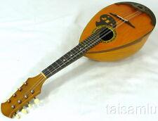 Japan Suzuki NO.203 bowlback solid Spruce top rosewood Mandolin,hard case,OM15