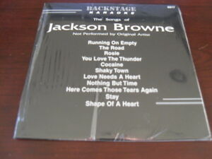 BACKSTAGE KARAOKE 6817 JACKSON BROWNE CD+G SEALED