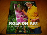 ROLF HARRIS-ROLF ON ART-+ SIGNED ART-1ST-2002-HB-NF-BBC-VERY RARE