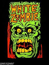 WHITE ZOMBIE cd lgo MONSTER YELL Official SHIRT LRG New rob zombie