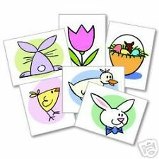 EASTER 12 Temporary Kids Tattoos Easter Basket Rewards