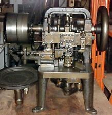 Nickerson Type Double Cable Chain Making Machine - Tooled: .009 Double Cable