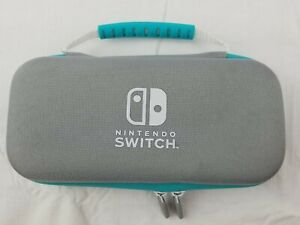 PowerA Nintendo Switch Lite Carry Case + Screen Protector - Turquoise/Gray