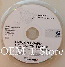 00 01 2002 BMW X5 M3 M5 NAVIGATION ROAD MAP NAV DISC 2012 CD ME VT NH MA CT RI