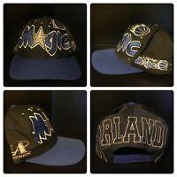 Orlando Magic Vintage 90s Logo Athletic Snapback Hat Cap Adult OSFA Shaq Penny