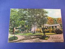 Linden Lodge Brattleboro,Vt Vintage Colorful Postcard Unused Pc14