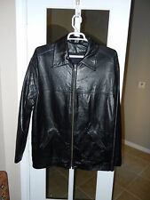 """THE WORLD IS NOT ENOUGH LEATHER JACKET """"NEW"""" HEINEKEN """"XL"""""""