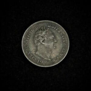 William IV Silver Fourpence/Groat, 1837