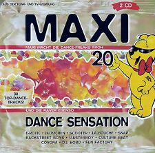 MAXI DANCE SENSATION 20 / 2 CD-SET (BMG ARIOLA MEDIA 1996)