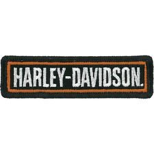 "Harley-Davidson Aufnäher, Emblem ""H-D STRAIGHT"" Patch *EM516661* klein"
