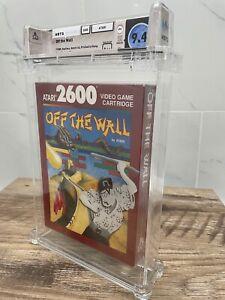 Unopened Off The Wall Atari 2600 Sealed Video Game! Wata Graded 9.4 Seal A++