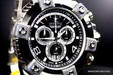 Invicta Reserve Grand Arsenal Watch Full Size 63mm Swiss Made Steel New Black