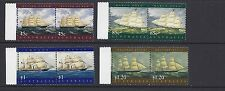AUSTRALIA 1998 WORLD STAMP EXPO SAILING SHIPS (Sc 1030-3) VF MNH pairs