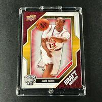 JAMES HARDEN 2009 UPPER DECK #40 *ROOKIE CARD - DRAFT EDITION* RC ROCKETS NBA