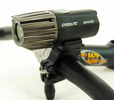 CygoLite Expilion 850 Lumens USB Rechargeable Bike Headlight & Helmet Mount