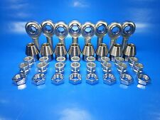 4-Link 5/8-18 Thread x 1/2 Bore, 1/2 x3/8 Spacers, Heim Joints, Bung 1-1/4 x.120